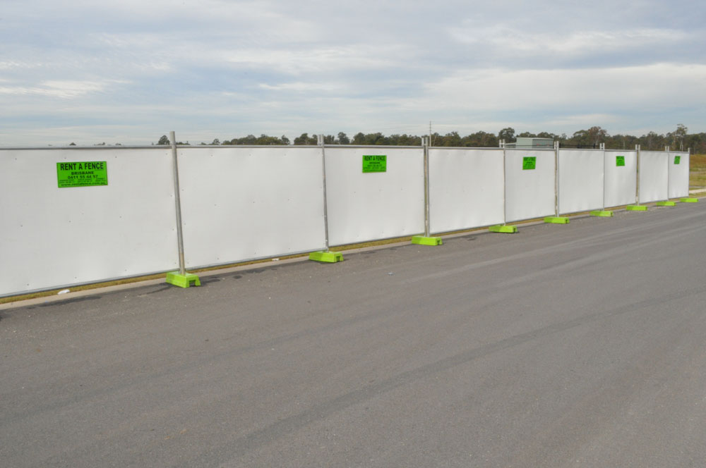 temporary hoarding fence, temporary hoarding fencing